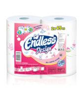 Endless Design Χαρτί Κουζίνας 2τεμ (2x450gr)