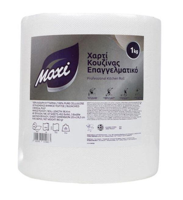 MAXI Χαρτί Κουζίνας Επαγγελματικό Λευκό 1kg
