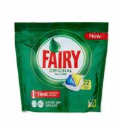 Fairy Original All in One Λεμόνι 22 κάψουλες