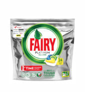 Fairy Platinum Lemon Πλυντηρίου Πιάτων 24 Κάψουλες