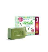 Αρκάδι Πράσινο Σαπούνι 150gr (3+1 Δώρο)