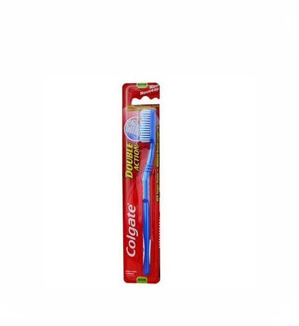 Colgate Double Action Οδοντόβουρτσα Medium Μπλέ