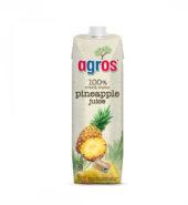 Agros 100% Χυμός Ανανά 1000ml