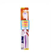 Aim Οδοντόβουρτσα Anti-Plaque Μέτρια Μώβ