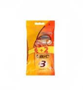 Bic 3 Ξυραφάκια Sensitive (6+2 Δώρο) 8τεμ