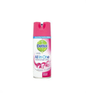 Dettol All In One Crisp Linen Απολυμαντικό Spray 400ml Ροζ