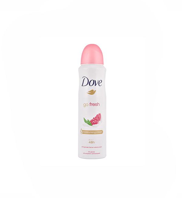 Dove Αποσμητικό Spray Go Fresh Με Ρόδι 150ml
