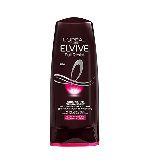 L'Oreal Elvive Full Resist Conditioner Ενδυνάμωσης Για Αδύναμα Μαλλιά 200ml