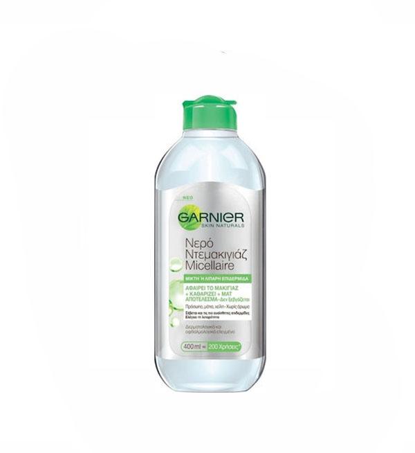 Garnier Skin Active Micellaire Νερό Ντεμακιγιάζ για Μικτή /Λιπαρή Επιδερμίδα 400ml