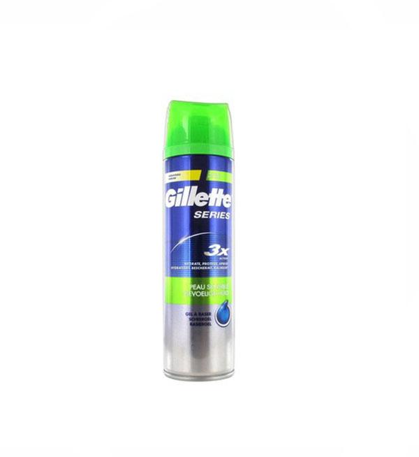 Gillette Series Sensitive Gel Ξυρίσματος Με Αλόη Βέρα 240ml