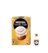 Nescafe Στιγμιαίος Cappuccino Βανίλια Latte 8 Φακελάκια
