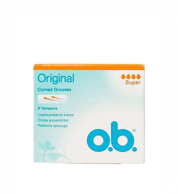 O.B. Orignal Super Curved Grooves 8τεμ