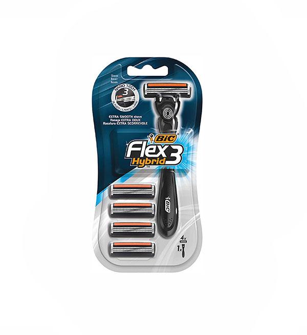 Bic Flex 3 Hybrid Men's Με Τρεις Λεπίδες