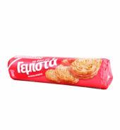Παπαδοπούλου Γεμιστά Μπισκότα Με Φράουλα