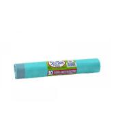 Σακουλες Σκουπιδιών Ρολο Με κορδονι Γαλάζιο 52x75cm 45lt 10τεμ