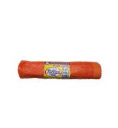 Σακουλες Σκουπιδιών Ρολο Με κορδονι Πορτοκαλί 52x75cm 45lt 10τεμ