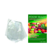 Food Bags Σακούλες Τροφίμων 28x43cm Μεγάλο Μέγεθος 25Τεμ