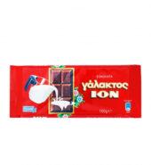 ION Σοκολάτα Γάλακτος 100gr