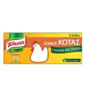Knorr 12 Κύβοι Ζωμός Κότας 6lt