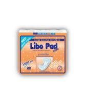 Libo Pad Σερβιέτες Super Plus Ακράτειας 20Τεμ