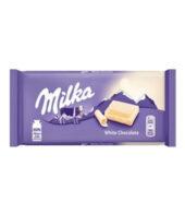 Milka Σοκολάτα Λευκή 100gr