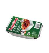 Poly Bag Αλουμινένια Σκεύη Τροφίμων Για Τον Φούρνο Κατάψυξη Και Ψυγείο Νο220 6τεμ