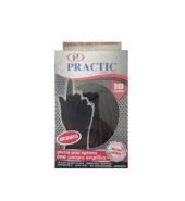 Practic Γάντια Μιας Χρήσης Μαύρα Medium