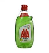 AVA Υγρό Πιάτων Action με Ξύδι & Μήλο 450ml