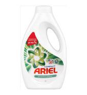 Ariel Υγρό Πλυντηρίου Συμπυκνωμένο Mountain Spring 20 Μεζούρες 1,1lt