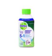 Dettol Απολυμαντικό Καθαριστικό Πλυντηρίου Ρούχων 5in1 250ml