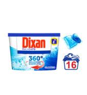 Dixan Duo Caps Classic Κάψουλες Πλυντηρίου Ρούχων 16 Τεμ