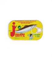 Josiane Σαρδέλες Σε φυτικό Λάδι 125γρ